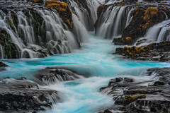 Brúarfoss Bliss (Matt Payne Photography) Tags: bruarfoss iceland landscape magical sony70300fe sonya7rii sublime water waterfall wonder beautiful flowing turquoise
