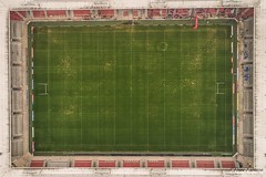 St. Helens rugby stadium (Steve Samosa Photography) Tags: aerial drones droneshot topdownview saints rugby stadium sthelens england unitedkingdom gb