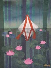 オンディーヌ - Undine (清水みのり - Artist) Tags: minorishimizu風 undine origami kyoorigami artist japan japanese paper 日本画 清水みのり 京おりがみ 芸術 アーティスト オンディーヌ