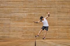 The First Line (u c c r o w) Tags: skateboarder skateboard skate skateboarding urbanlife urban wood wooden action xtreme extreme sport sports uccrow poland polish colombian man street streetlife portrait city minimal minimalist minimalism style szczecin