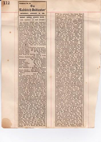 1926: Jan Review 1