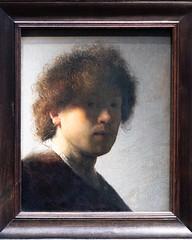 Self-portrait   Rembrandt van Rijn   c.1628   The Rijksmuseum-74 (Paul Dykes) Tags: rijksmuseum museumofthenetherlands art gallery museum amsterdam netherlands nl holland selfportrait rembrandtvanrijn 1628