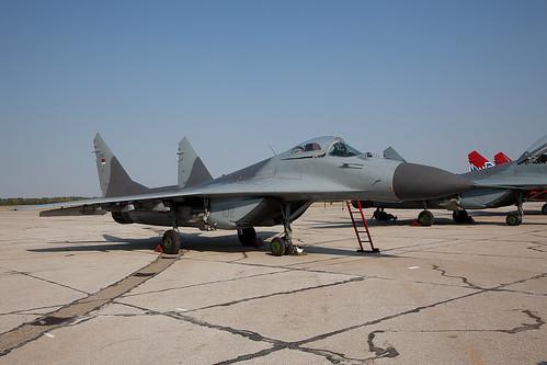 18102, Mikoyan Gurewitsch MiG-29A Serbian Air Force @ Batajnica LYBT