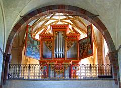 Innichen cathedral orgues (Vid Pogacnik) Tags: italy italia innichen sancandido church cathedral orgues interior