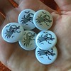 Bat Babe Buttons (the ghost in you) Tags: bat batbabe button pin etsy horror vampire timburton nightmarebeforechristmas