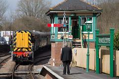 09018 Kingscote (daveymills31294) Tags: 09018 kingscote class 09 bluebell railway diesel gala 2018