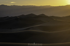 American Sahara (ihikesandiego) Tags: mesquite sand dunes death valley national park sunset