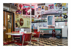 diner (philippe*) Tags: diner americana westyellowstone