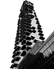 56 Leonard Street, New York, NY (MassiveKontent) Tags: streetphotography bwphotography streetshot gopro fisheye architecture geometric lines symmetry building bw contrast city monochrome urban blackandwhite streetphoto manhattan shadows nyc newyorkcity skyscraper newyorkstreet newyorkcitystreet newyork midtown metropolis metropolitan america cityscape