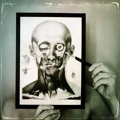 Picture yourself (Хоргмо) Tags: face neck eye anatomy scalpel tintype