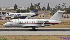 9H-OWL LMML 02-05-2018 (Burmarrad (Mark) Camenzuli Thank you for the 11.6) Tags: airline tag aviation malta aircraft bombardier cl6002b16 challenger 605 registration 9howl cn 5939 lmml 02052018