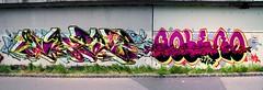 Heiligenstadt (Mac Orion) Tags: graffiti vienna wien bolero mac macone broken glass