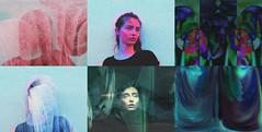 Wake In A Home (ekaterinajess) Tags: cover album portrait portraits dmt abstract experimental negative invert artwork rgb
