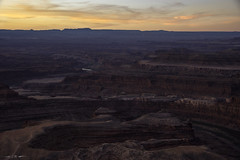 Greeting the Sun (courtney_meier) Tags: canyonlands canyonlandsnationalpark coloradoplateau deadhorsepoint deadhorsepointstatepark landscape nationalpark usnationalpark utah autumn canyon clouds dawn desert erosion magichour morning morninglight redrock redrockcountry redrocks sandstone sunrise