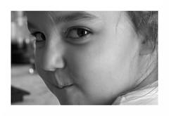 """Julia Alias La Malinoise  Dixit Sa Maman"" (The Blue Water Lily's Company) Tags: fdrouet nb bw monochrome monochrom portrait retrato enfant child nikon d90"