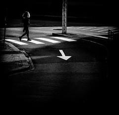 To the right (MortenTellefsen) Tags: 2018 gatefoto street streetview svarthvitt streetphoto svart bw blackandwhite blackandwhiteonly black bergen norway monochrome