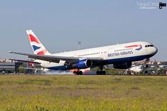 Simplemente Boeing... (yagoortiz) Tags: boeing 767 763 763300er british britishairways gbnwz madrid barajas adolfosuarez spotting spotterday lemd mad ixspotterday canon canoneos1200d