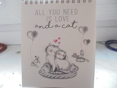 all you need is love and a cat (en-ri) Tags: calendario bianco nero love amore sony sonysti calendar february febbraio