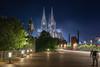 Köln Cologne (rapp_henry) Tags: nikon d800 köln cologne henryrapp blauestunde nacht dom weltkulturerbe chatedrale 2470mm28