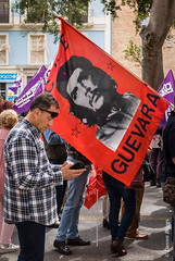 Guevara. Día del Trabajo, Malaga 2018 (I'mDKB) Tags: imdkb malaga andalucia andalusia espana spain guevara che labourday protest march may 2018 people lightroom5 lr5 avenidaprincipal nikond80 1855mm 1855mmf3556 díadeltrabajo workersday mayday pce generalworkersunion ugt comisionesobreras ccoo itstimetowin pcpe ¡tuluchadecide workersrights communism