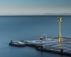 Signal out to Sea (Euan Ross (circa35mm)) Tags: 70200mm d800 eastlothian filter formatthitech harbour landscape landscapes longexposure lothian nd nikon nikond800 northberwick polariser scotland sea seascape sunrise tide uk water