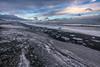 Diamond Beach - Iceland (B.E.K. Photography) Tags: jokulsarlon iceland diamond beach rocks pebbles coast shore water ocean north atlantic winter ice snow sky clouds iceberg waves outdoor landscape frost nikond850 nikon1735f28