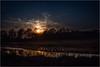 Noch eine kleine Weile . . . (Werner D.) Tags: sunset color nature panasoniclumix1260mm germany westmünsterland sonnenuntergang