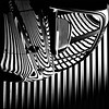 (⨀) Tags: theotherside universe square 72 stripeface reflection stripes geometric