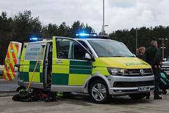 NL67 HNP (Ben Hopson) Tags: north east ambulance service neas brand new volkswagen vw iru incident response unit vehicle 999 hazmat rtc major 2017 nl67 hnp nl67hnp