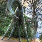 Zwei Giraffen - HDR - Painterly 2 thumbnail
