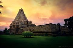 Gangaikonda Cholapuram, Tamilnadu, India (Suresh V Raja) Tags: gangaikonda cholapuram temple chola cholan thanjavur sunset sunrise dawn sky clouds nikon suresh chennai tamilnadu india sureshcprog sureshphotography d5300 architecture