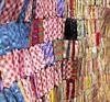 FABRICS (Rob Patzke) Tags: texture color fabric pattern lumix lx100 bokeh sew