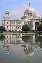 (johey24) Tags: architecture india calcutta queenvictoriamemorial reflections empire kolkatta