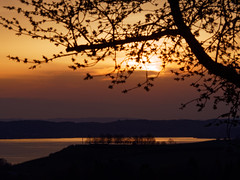 Sunset at lake constance. Pic taken from above Hagnau (OdenWALDfotograf) Tags: lakeconstance sunset sonnenuntergang spring frühling