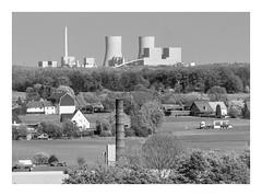 Das Ruhrgebiet (sw188) Tags: deutschland nrw ruhrgebiet hamm sw bw blackandwhite kraftwerk westfalen