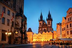 清晨,布拉格 (BestCityscape) Tags: 布拉格 捷克共和国 建筑 旅行 prague czech republic architecture europe travel square castle 教堂 cathedral