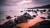 Jungmun Saekdal Beach - South Korea - Seascape photography (Giuseppe Milo (www.pixael.com)) Tags: photo landscape nature southkorea korea clouds longexposure beach travel jeju photography island sky seascape rocks geotagged sea seogwipo jejudo kr onsale