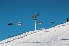 Ski lift and snow in the mountains (hackisan) Tags: winter austria cold germany ice icy icylandscape mountain mountains piste ski skigear skihill skilessons skilift skilodge skirace skiracer skiraces skiresort skirun skislope skiing skiinglodge snow transport transportation