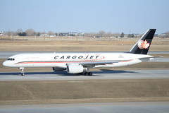 CJT B752 (djrxxs) Tags: cyycyyccalgary cargojet boeing b757200