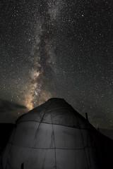 Sleeping under the stars (Joost10000) Tags: yurt stars night milkyway nightsky kyrgyzstan asia song kul songkul sonkul central travel longexposure canon canon5d eos