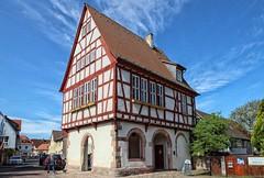 Pflaumheim Altes Rathaus (wernerfunk) Tags: fachwerk architektur gebäude franken