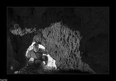 Grotte de la Cascade du Moulin de la Roche - Fertans (inedite) (francky25) Tags: grotte de la cascade du moulin roche fertans inedite franchecomté doubs noir et blanc explo prospection première