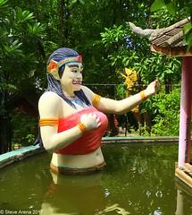 Suttichit Buddha Place Park (Steve Arena) Tags: thailandbirding2017 thailand 2017 nikon d750 chiangmai suttichitbuddhaplacepark buddha buddhism gold statue god beautiful temple wat