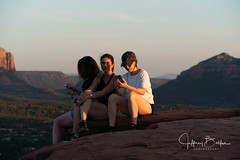 Sedona Sunset (jbalfus) Tags: sedona sonya9 golf people women sunset sonya9mirrorless sonyalpha sonyilce9 fullframe