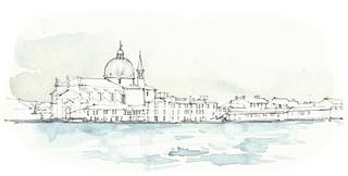 Venezia, Chiesa del Santissimo Redentore vanop Fondamenta Zattere Allo Spirito Santo, Italia
