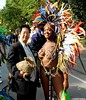 Dr. Takeshi Yamada and Seara (Coney Island sea rabbit). Brooklyn, New York. Brooklyn Labor Day Parade. West Indian Day Parade, Carnival    20160905Sun DSCN7676=p-2020C2 (searabbit30) Tags: takeshiyamada fineartexhibitions museumcollections famous japanese japaneseamerican artist osaka tokyo japan tv painting sculpture photography graphicdesign sideshow freakshow banner gaff performance fashiondesign fashion tophat jabot jewelrydesign victorian gothic goth steampunk dieselpunk fashiondesigner playboy bikini roguetaxidermist roguetaxidermy taxidermist taxidermy specialeffect cabinetofcuriosities dimemuseum seara searabbit coneyisland mythiccreature cryptozoology cryptid brooklyn newyorkcity nyc newyork brooklynlabordayparadewestindiandayparade carnival