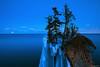 Full Moon Rising at Tettegouche State Park (A. Johnson) Tags: milvus2128zf tettegouchestatepark lakesuperior