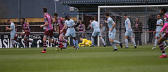 Corinthian Casuals 1 Lewes 3 07 04 2018-252.jpg (jamesboyes) Tags: lewes corinthiancasuals corinthian football soccer fussball calcio voetbal amateur bostik isthmian goal score celebrate tackle pitch canon 70d dslr