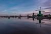 Zaanse Schans '18 II (Blende4.0) Tags: holland netherlands zaanse schans windmill sky clouds sunset travel lake sea nature
