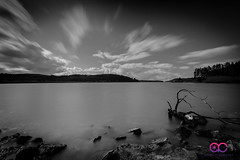 Alwen Resevoir (AC Photography 828) Tags: nikon nikond750 nikon1635mm formatthitech manfrotto lake water resevoir alwen northwalesphotographer northwales wales denbigh nature longexposure blackandwhite ndfilter clouds scenary scenic outdoor rocks